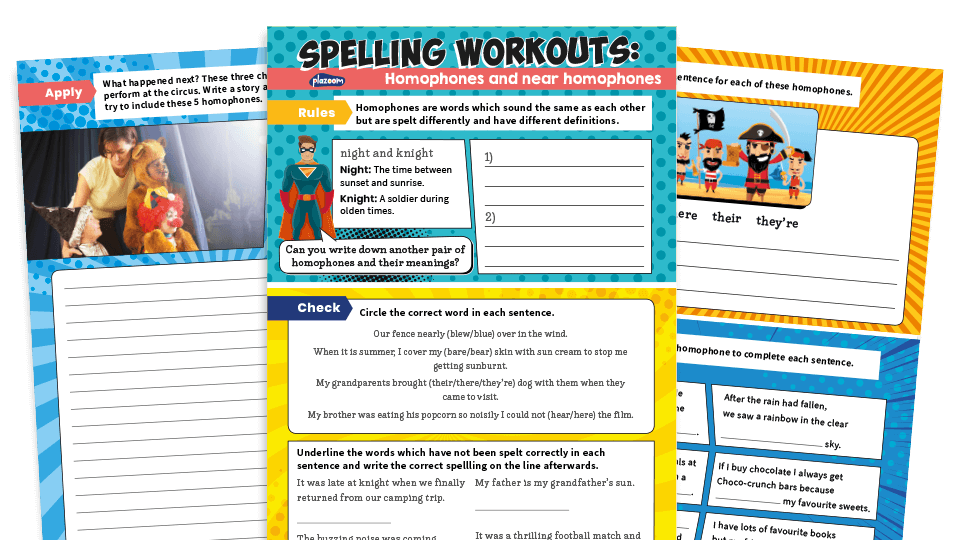 Homophones KS2 – 10 of the best SPaG resources for English