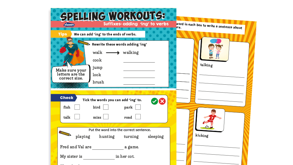 What Is A Verb? – 16 Of The Best Primary Grammar Worksheets And Resources  For KS1 And KS2 English