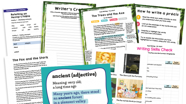 Image of Year 6 Model Text Resource Pack 6: 'The Trees and the Axe' (Narrative; History - Ancient Greece)