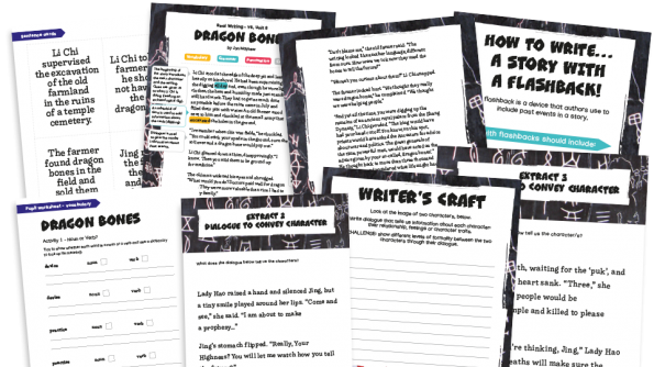 Image of Year 6 Model Text Resource Pack 8: 'Dragon Bones' (Narrative; History - Shang Dynasty)