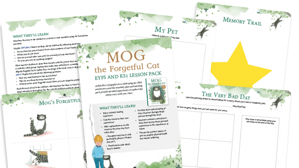 Free Resource Image for Mog The Forgetful Cat EYFS and KS1 Lesson and Assembly Pack