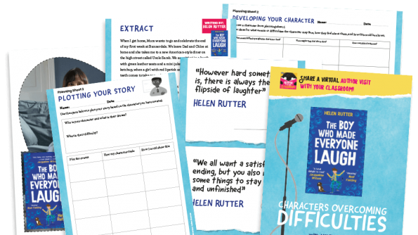 Free Resource Image for Characters overcoming difficulties, with Helen Rutter (episode 17)