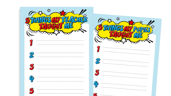 Free Resource Image for My School Superhero: Positive Writing Activity for KS1 and KS2