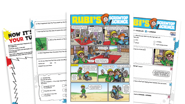 Free Resource Image for Rubi and the Loch Monster – KS2 Beano Comprehension and Writing Activities Pack