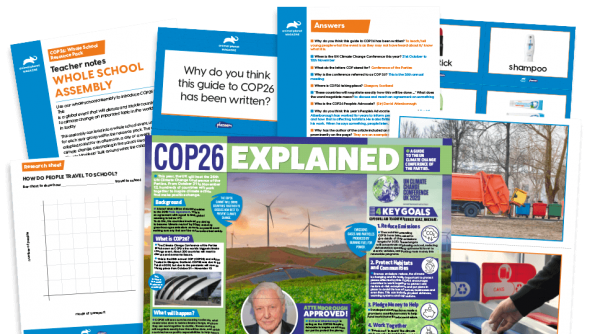 Free Resource Image for COP26 - Our Climate Manifesto: Whole-school Assembly and Activities Project Pack