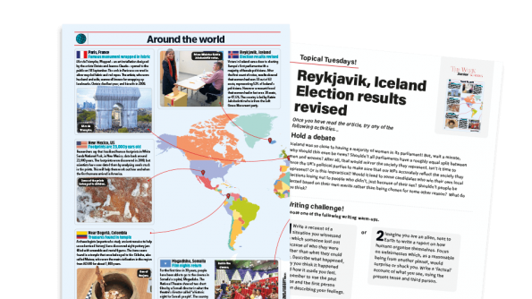 Free Resource Image for Topical Tuesdays: Fair Representation - KS2 News Story and Reading and Writing Activity Sheet from The Week Junior