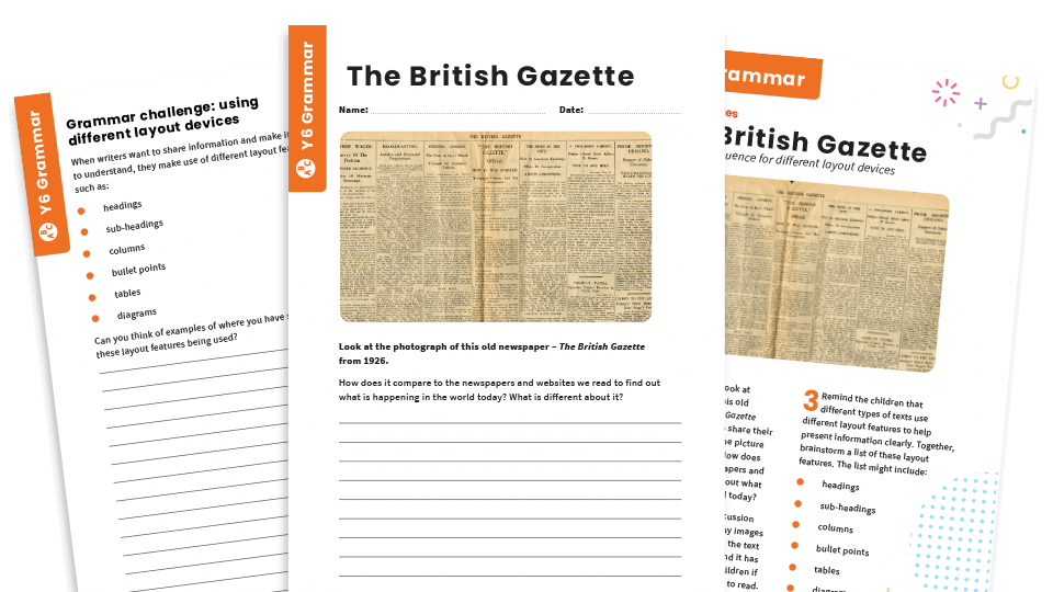 How To Write A Newspaper Report – 11 Great Resources For KS2 English
