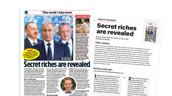 Free Resource Image for Topical Tuesdays: Money, Money, Money - KS2 News Story and Reading and Writing Activity Sheet from The Week Junior