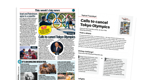 Free Resource Image for Topical Tuesdays: What About the Olympics? – KS2 News Story and Reading and Writing Activity Sheet from The Week Junior