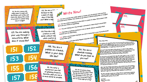 Image of Writing prompts for KS1 and KS2: Write Now! 121-160