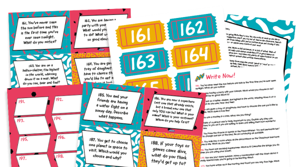 Image of Writing prompts for KS1 and KS2: Write Now! 161-200