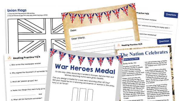 Image of KS2 Home Learning Pack: VE Day
