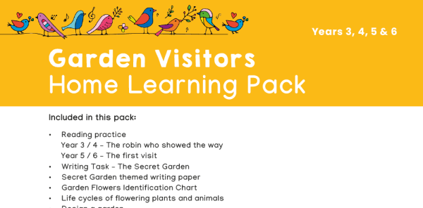 Preview image of KS2 Home Learning Pack: Garden Visitors