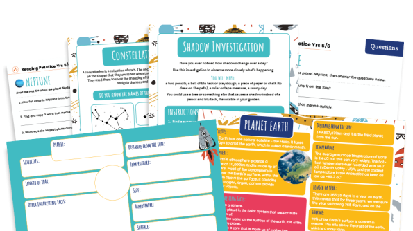 Image of KS2 Home Learning Pack: Space