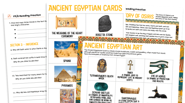 Image of KS2 Home Learning Pack: Ancient Egypt