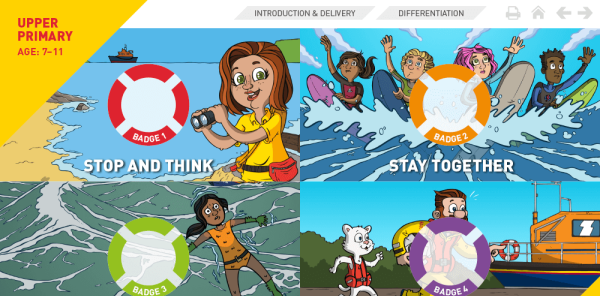 Preview image of RNLI resources pack for KS2: The day I fell in