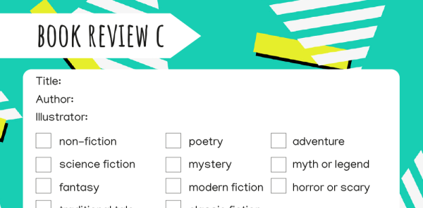 Preview image of Book review templates