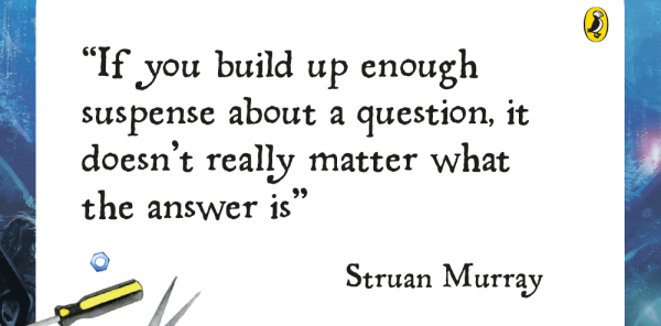 Preview image of Author in Your Classroom: Building suspense, with Struan Murray (series one, episode four)
