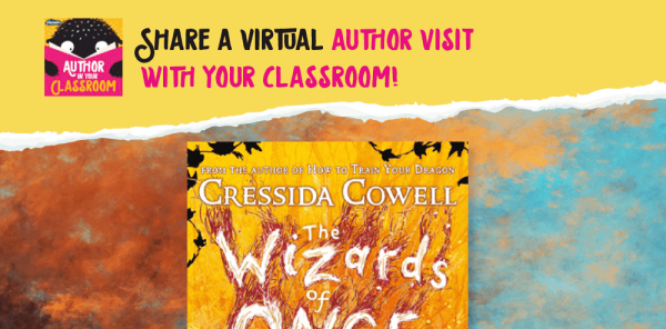 Preview image of Author in Your Classroom: Creating Magical Creatures, with Cressida Cowell (series one, episode five)