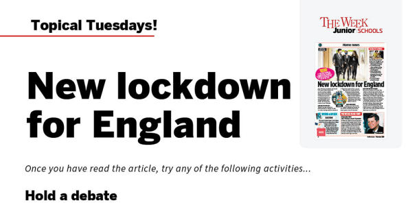 Preview image of Topical Tuesdays: Here we go again… – KS2 News Story and Reading and Writing Activity Sheet from The Week Junior