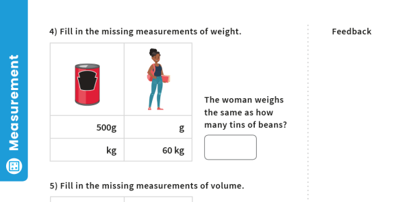Preview image of Converting Measurements: Y4 – Measurement – Maths Challenge