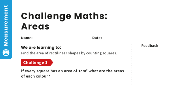 Preview image of Area: Y4 – Measurement – Maths Challenge