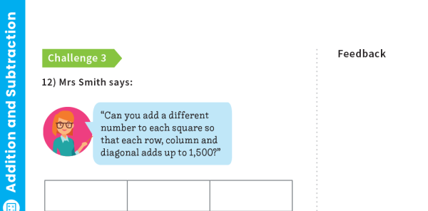 Preview image of Adding And Subtracting 4-Digit Numbers: Y4 – Addition And Subtraction – Maths Challenge