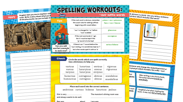 Image of Spelling Workouts