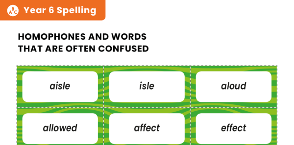 Preview image of Year 6 Spelling Patterns – KS2 Word Sort Activity Pack