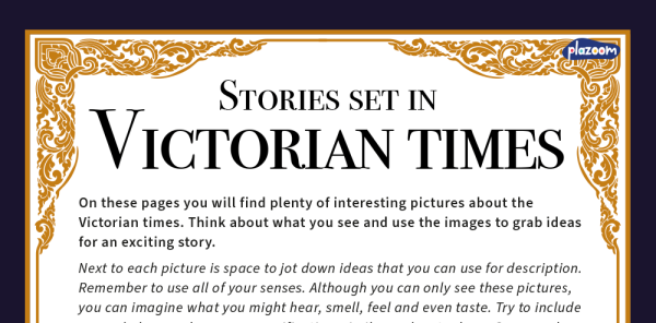 Preview image of KS2 Stories With Historical Settings Inspiration Pack: The Victorians