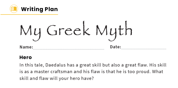 Preview image of Daedalus and Icarus – KS2 Reading Comprehension Worksheets: Greek Myths