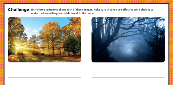 Preview image of KS2 Writing Features Challenge Mat: Story Settings