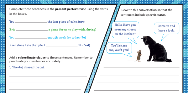 Preview image of Year 3 Grammar: Revision Worksheets