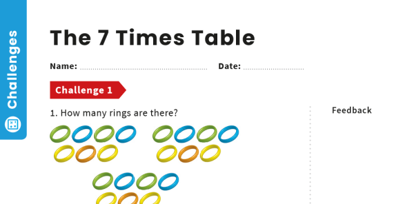 Preview image of 7 Times Table Teaching and Revision Pack