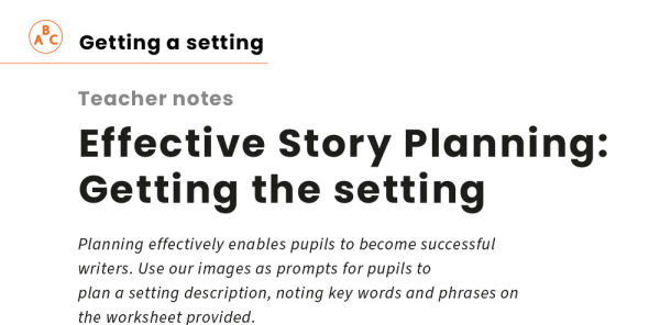 Preview image of Effective Story Planning: Getting the setting