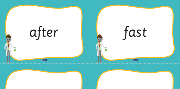Preview image of Year 2 Common Exception Words – KS2 Word Mat and Word Cards Pack